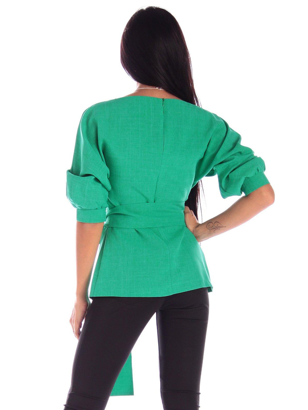 Блуза зеленая   3596249   фото 2