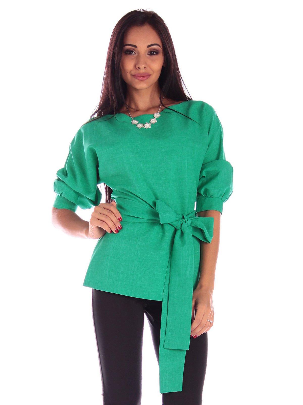 Блуза зеленая   3596249   фото 4