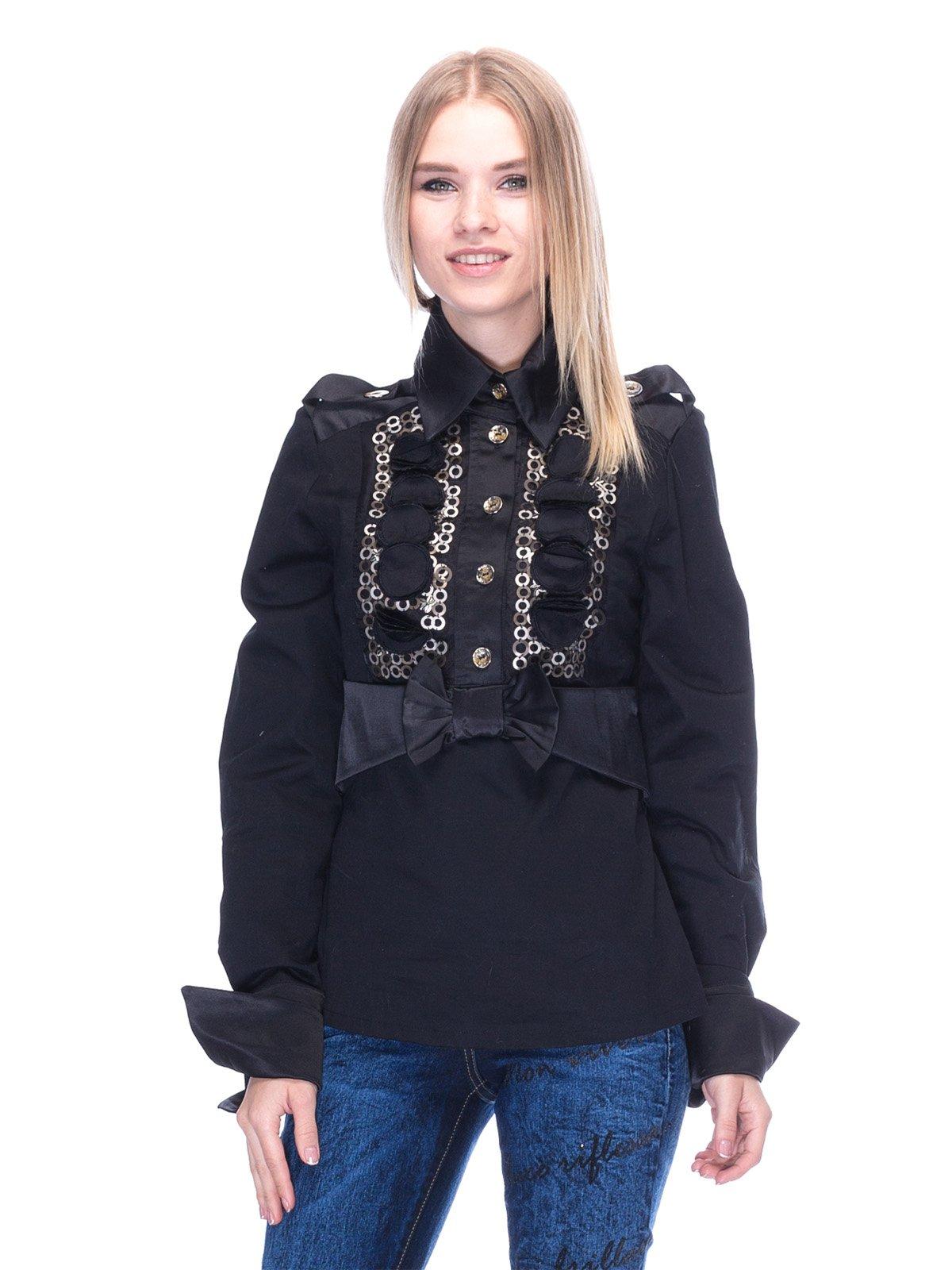 Блуза черная | 3273315