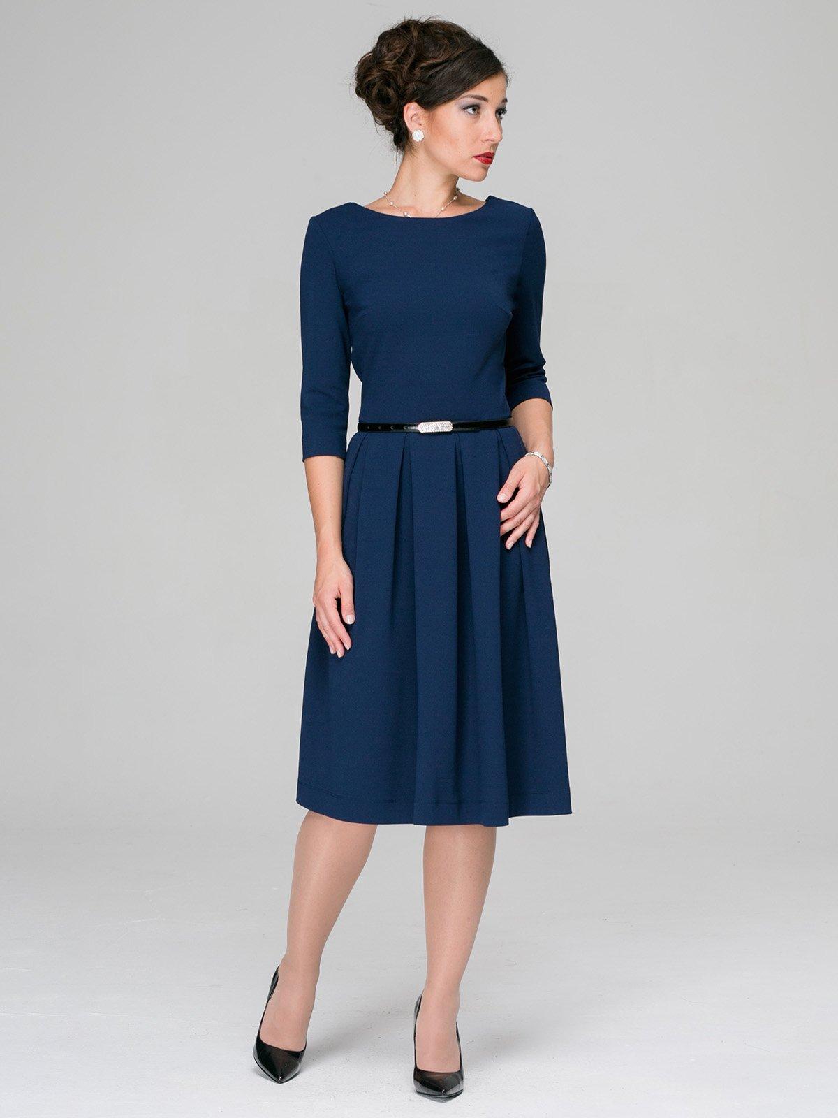 Платье синее | 3598872