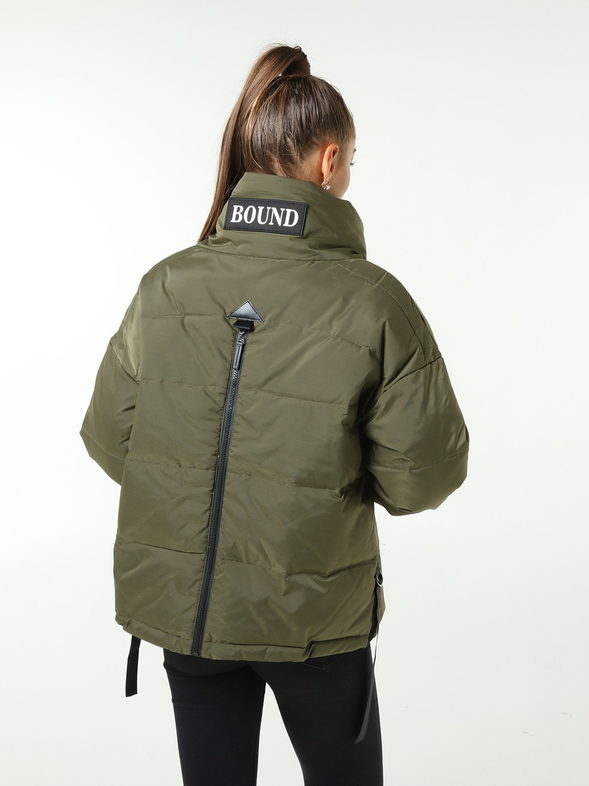 Куртка зеленая | 3599158 | фото 2