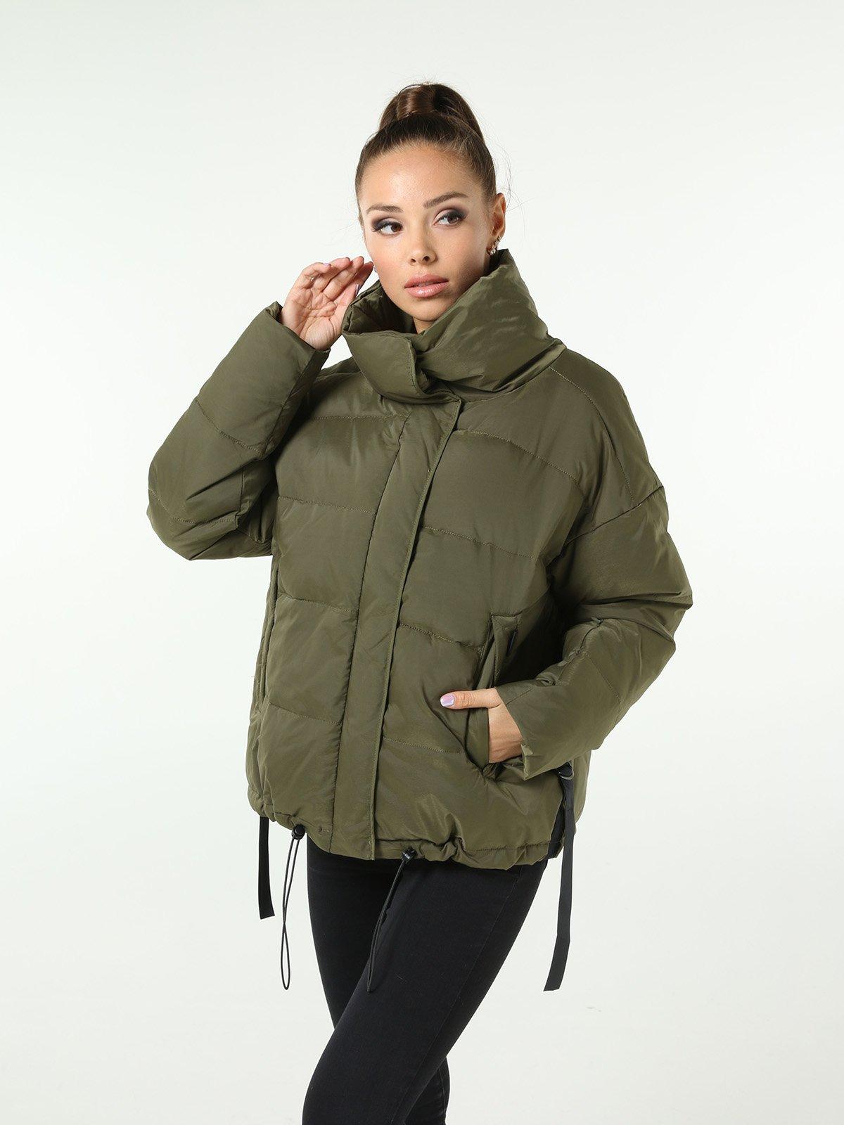 Куртка зеленая | 3599158 | фото 3