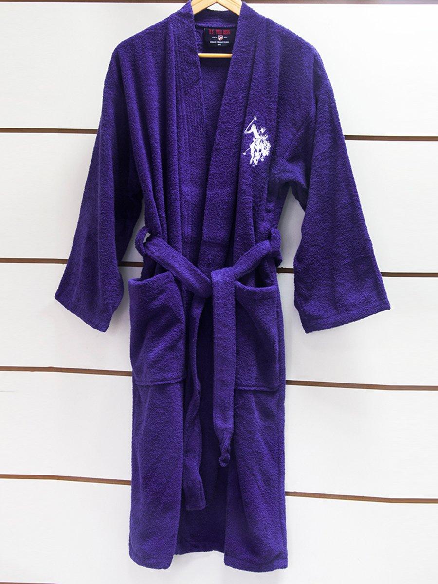 Халат фиолетовый махровый | 3581852