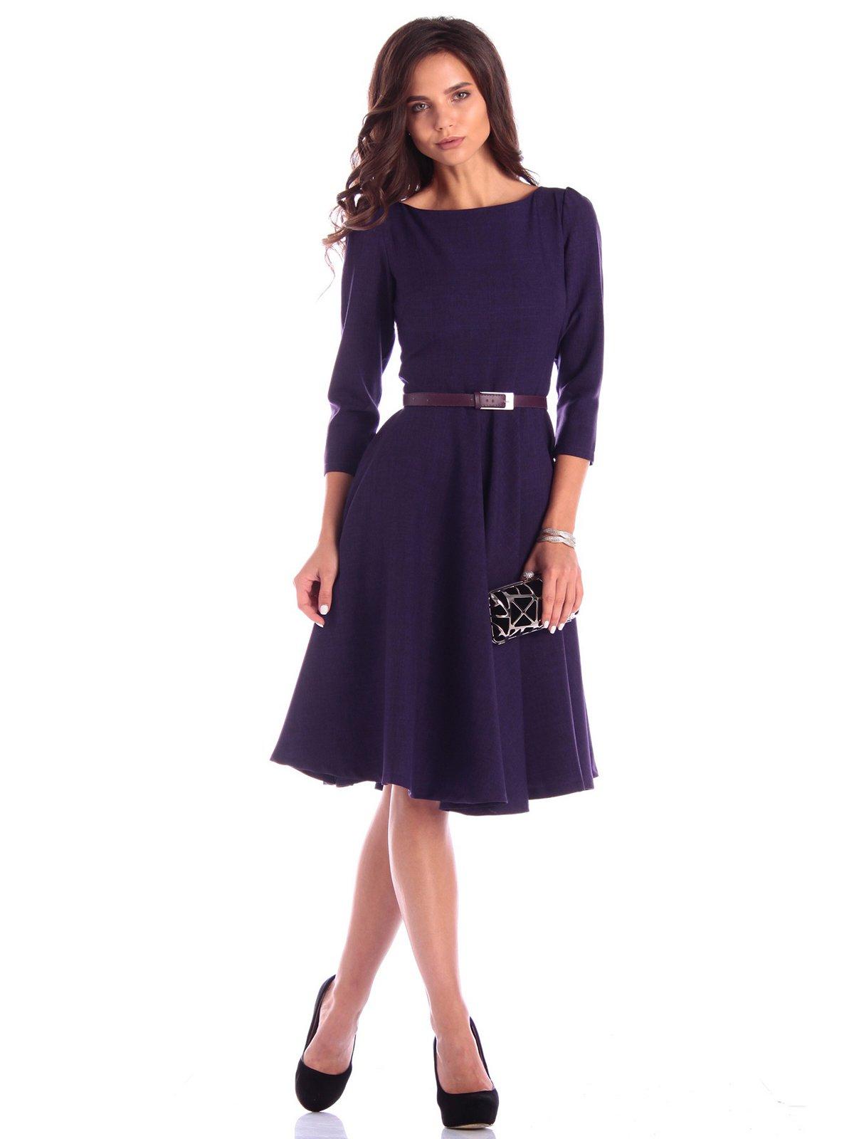 Платье темно-фиолетовое | 3608693