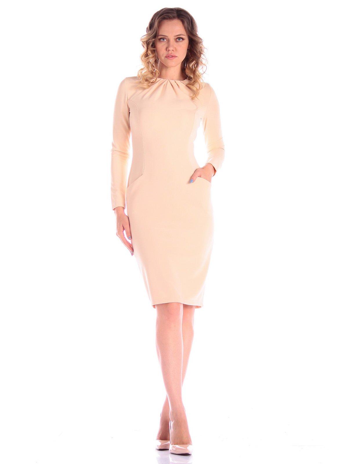 Платье бежевое   3608823