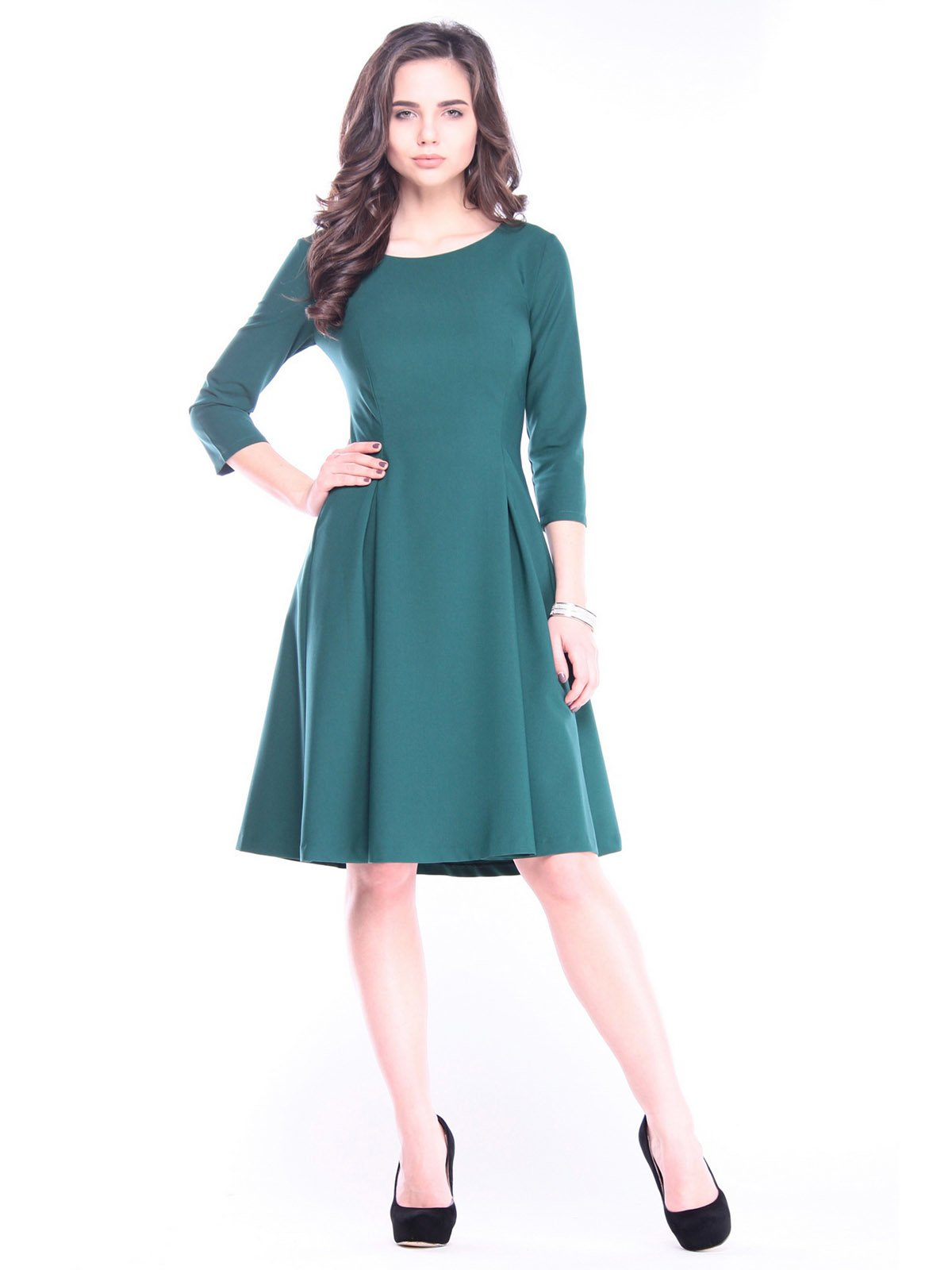 Сукня темно-смарагдова | 3091025