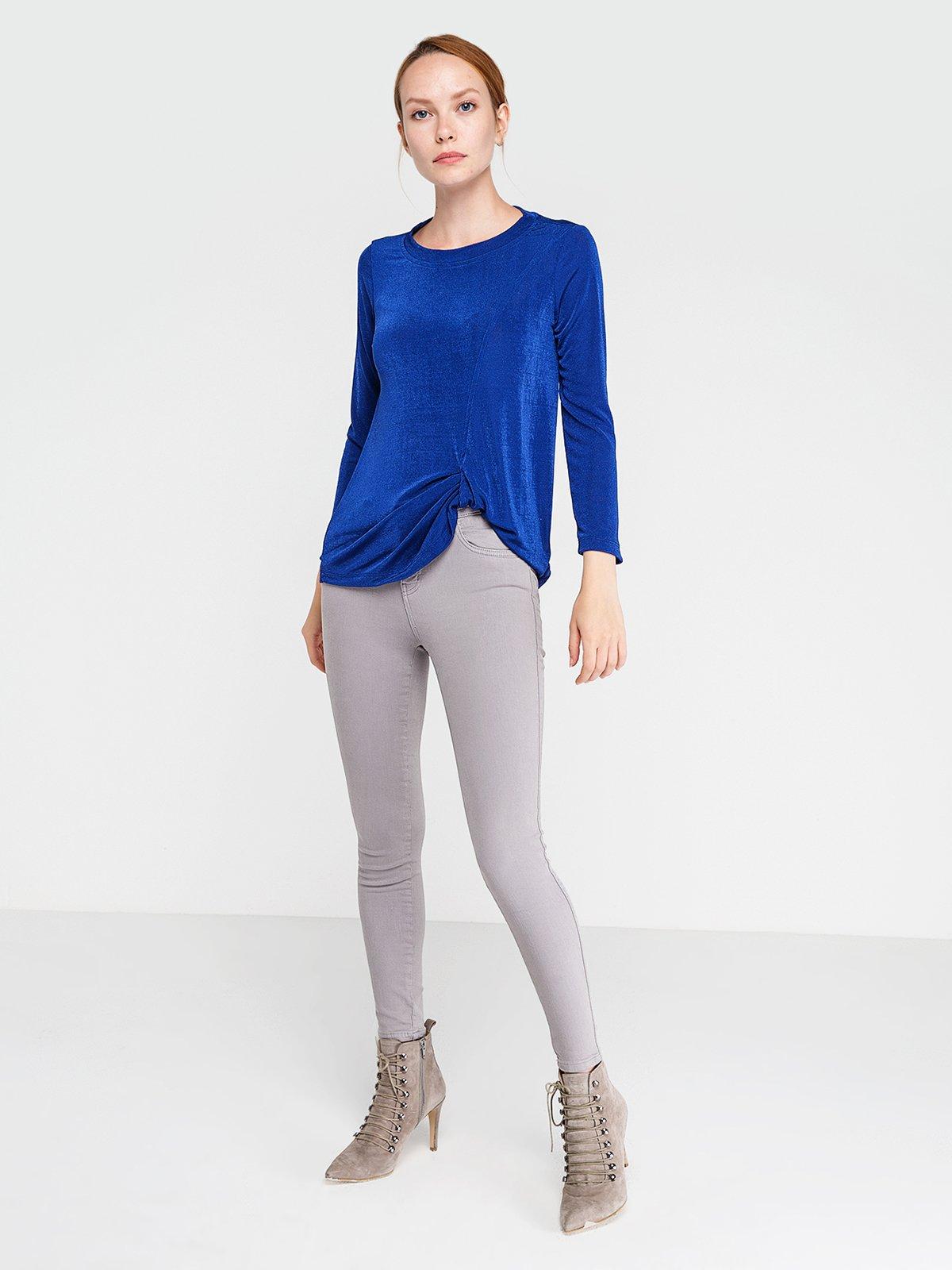Блуза цвета морской волны | 3606450