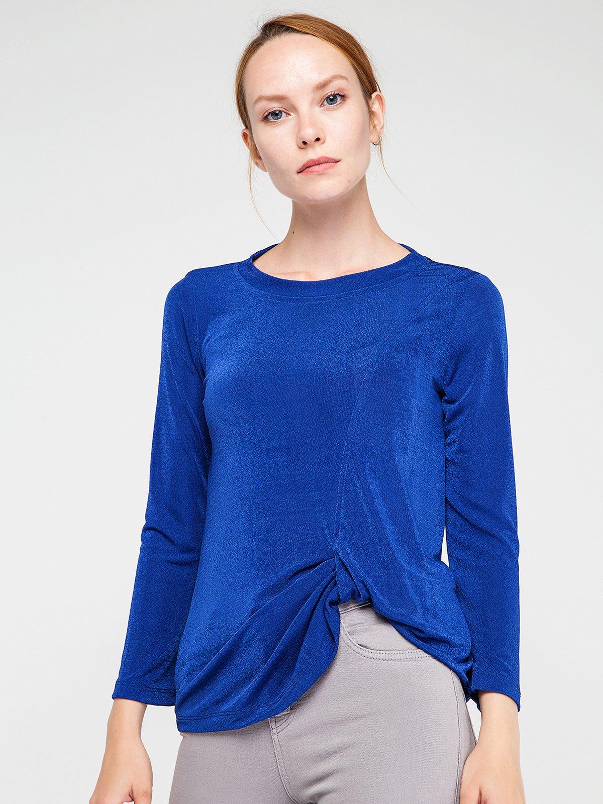Блуза цвета морской волны | 3606450 | фото 4