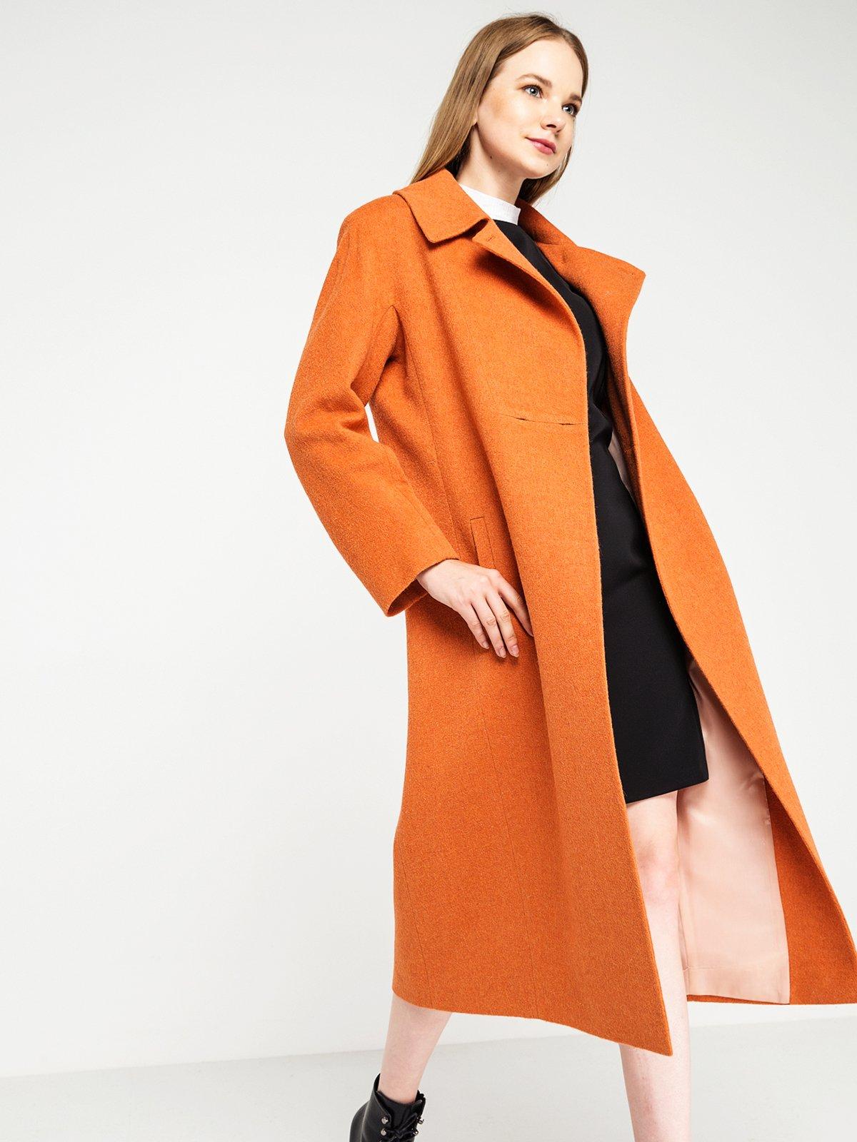 Пальто оранжевое | 3606556
