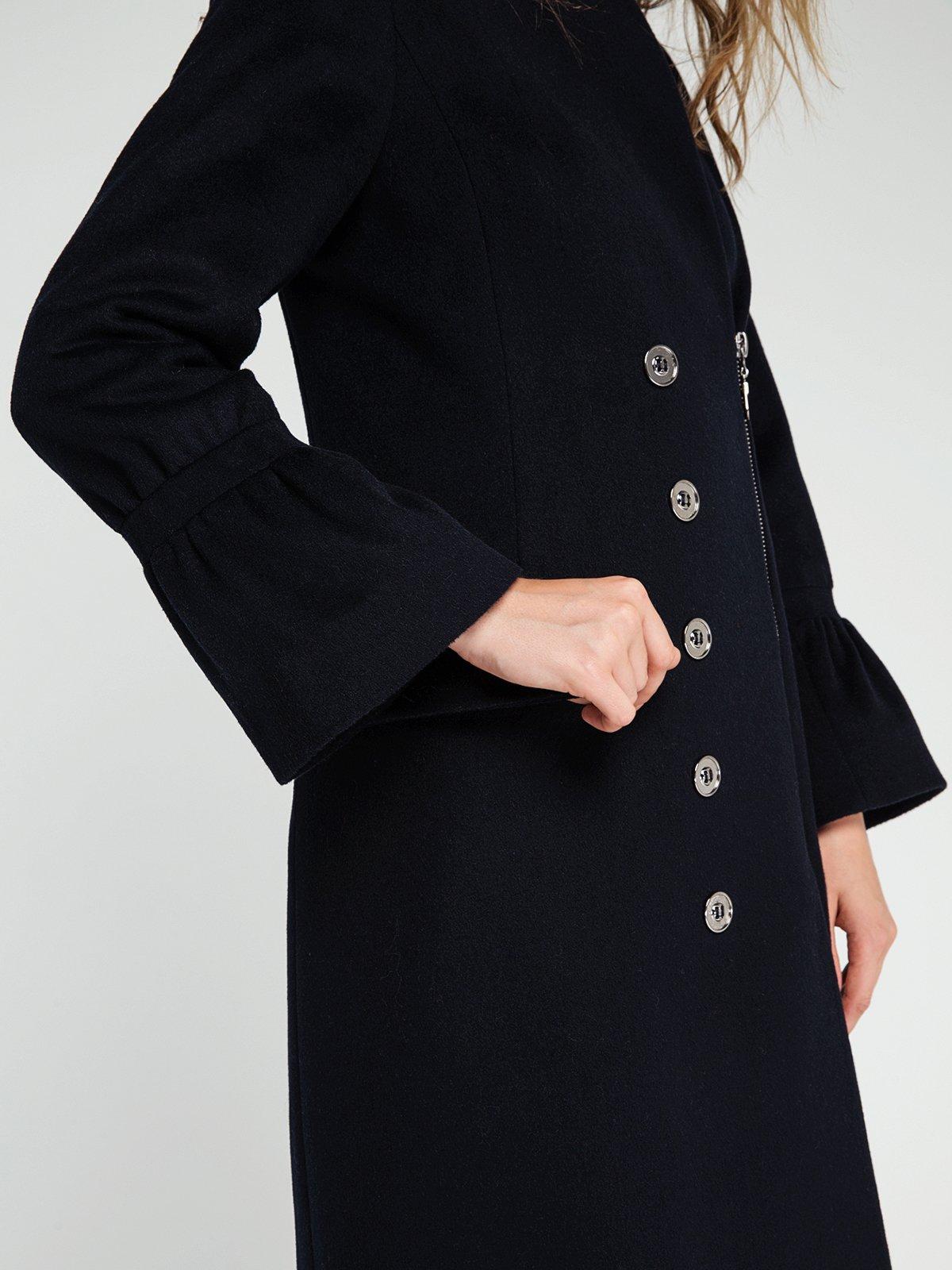 Пальто темно-синее   3606561   фото 3