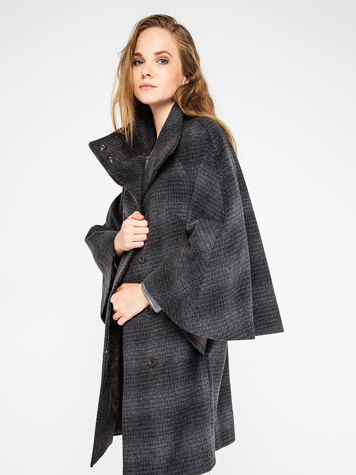 Пальто клетчатое | 3606575