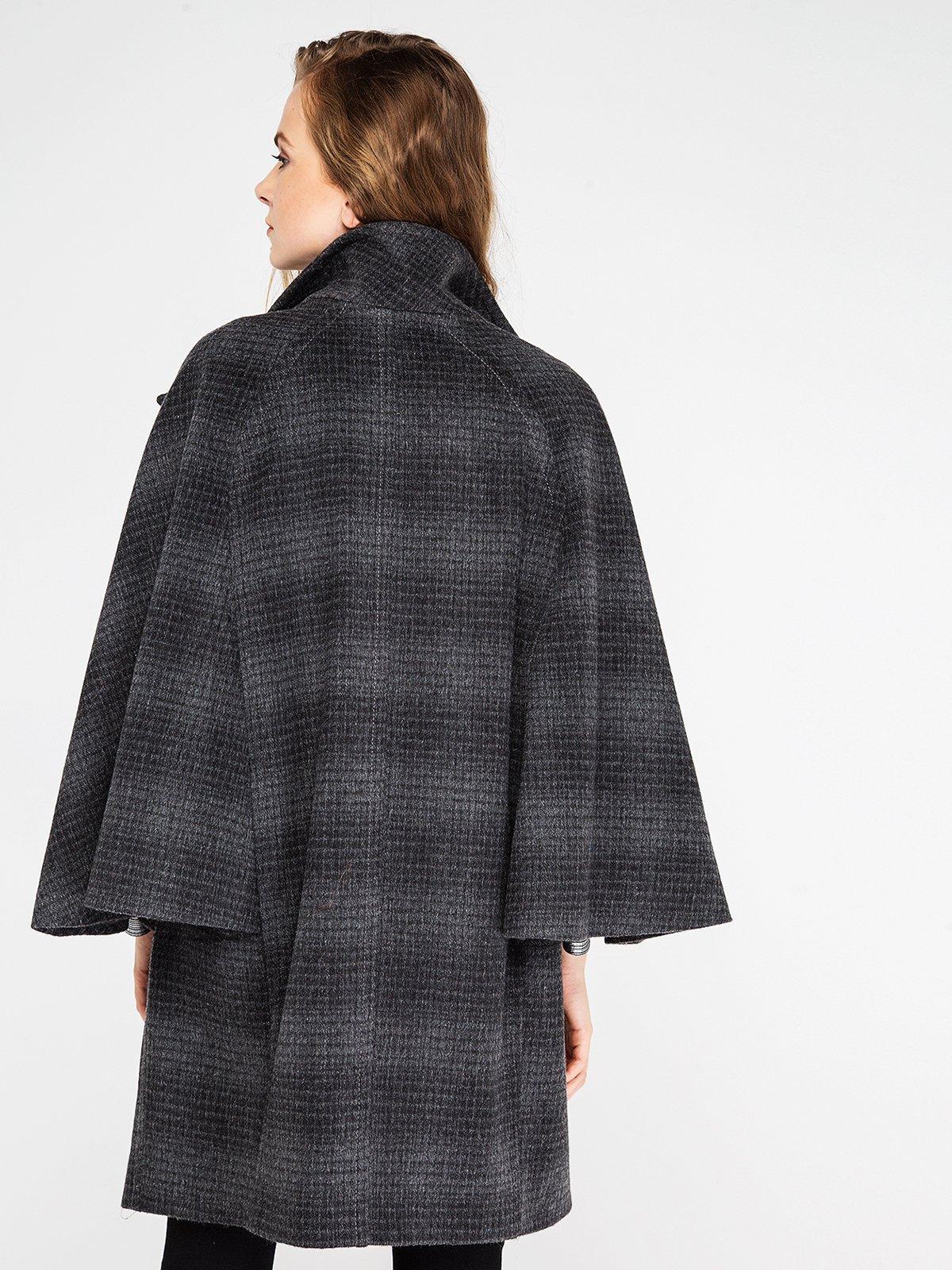 Пальто клетчатое | 3606575 | фото 4