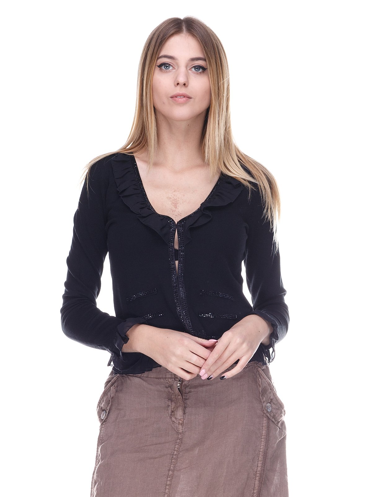Блуза черная | 2635342