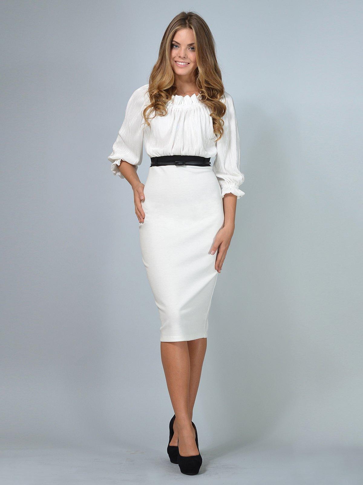 Платье молочного цвета | 3621850