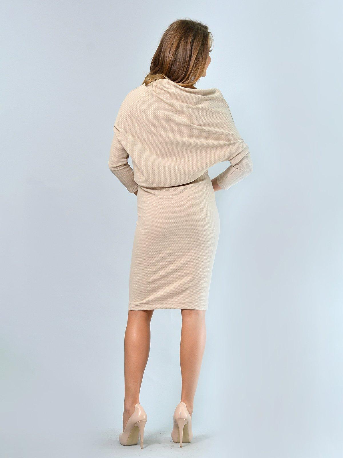 Платье песочного цвета | 3621919 | фото 4