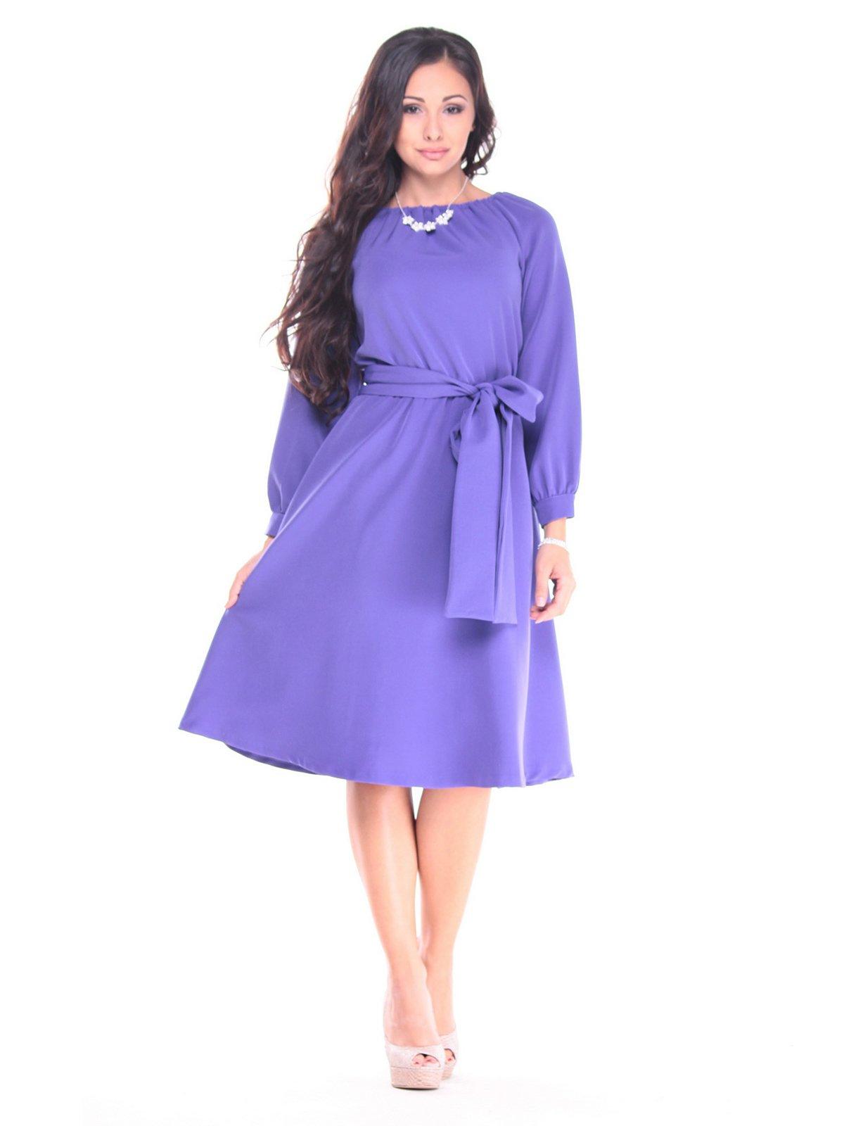Платье сиреневое | 2899381