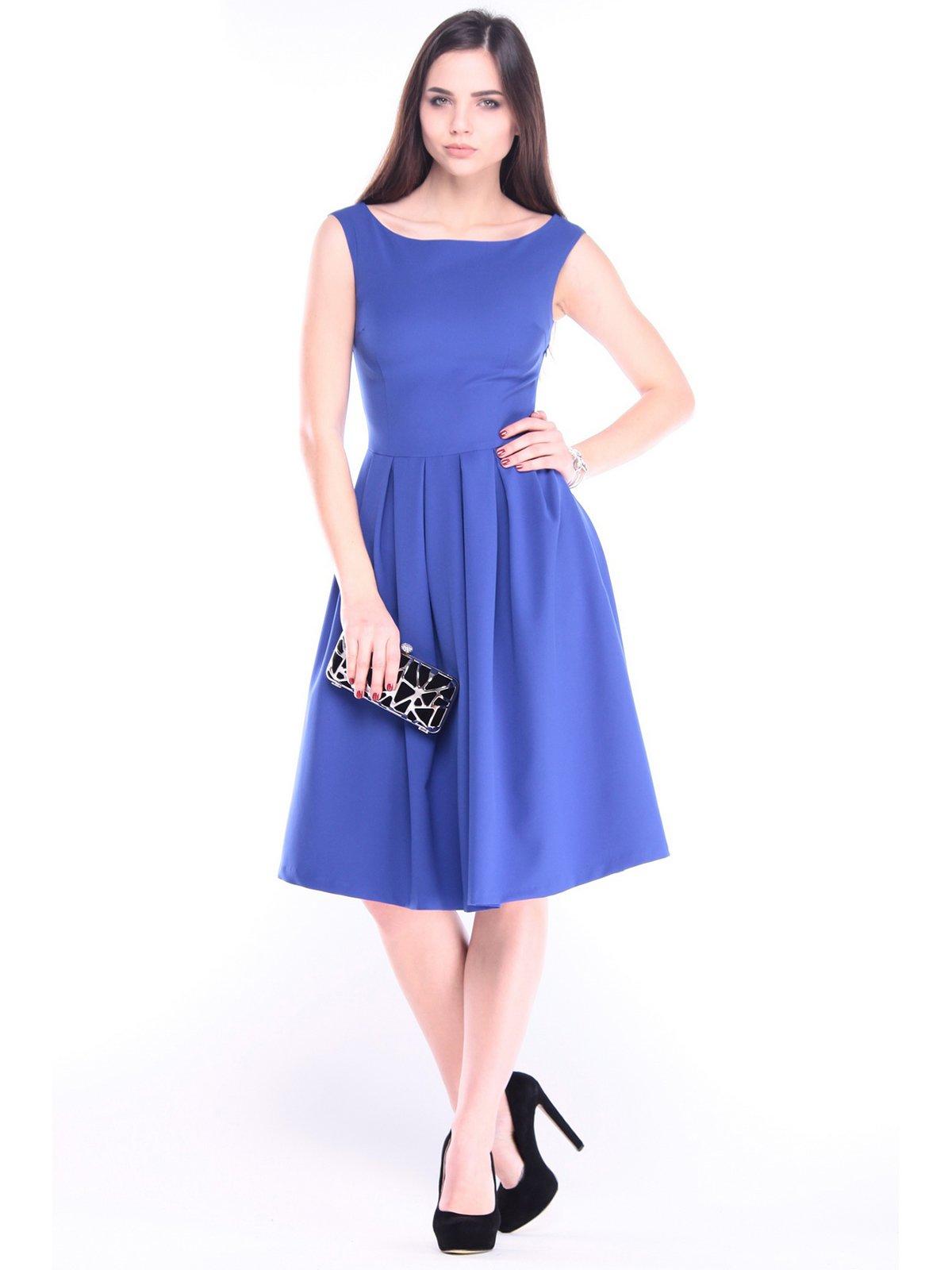 Платье цвета электрик | 2962372