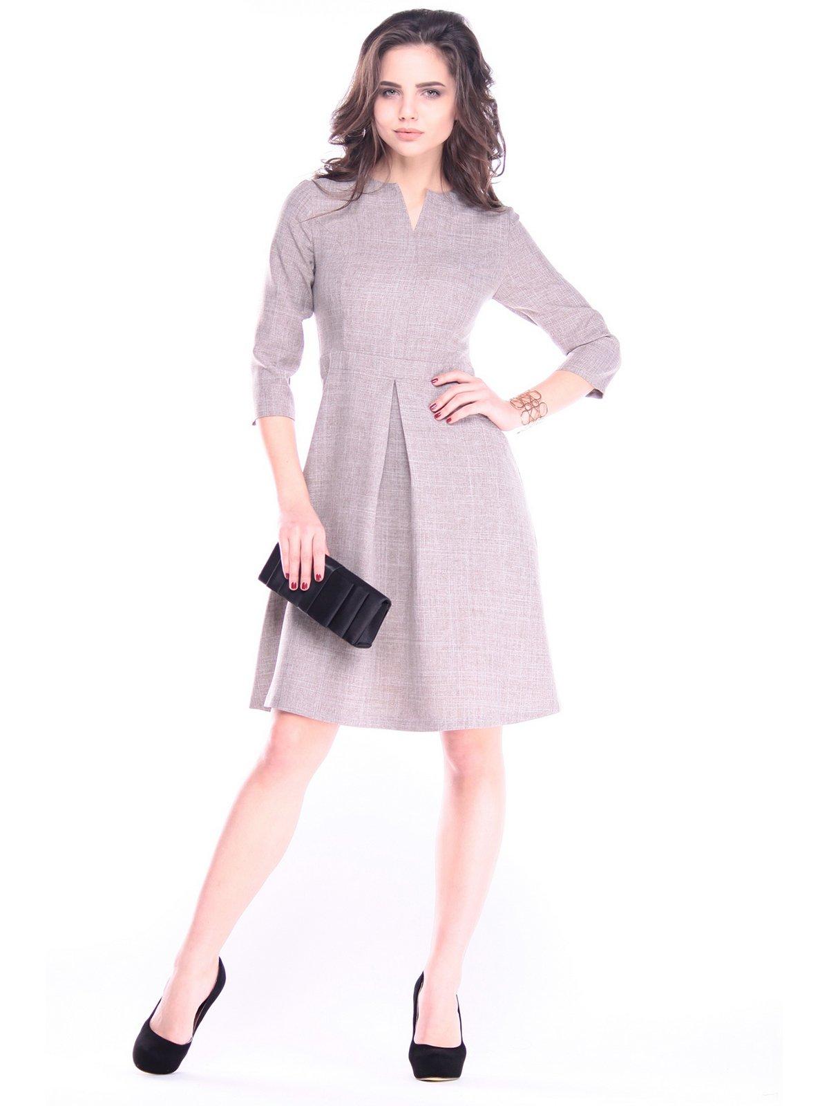 Платье цвета мокко | 2962669