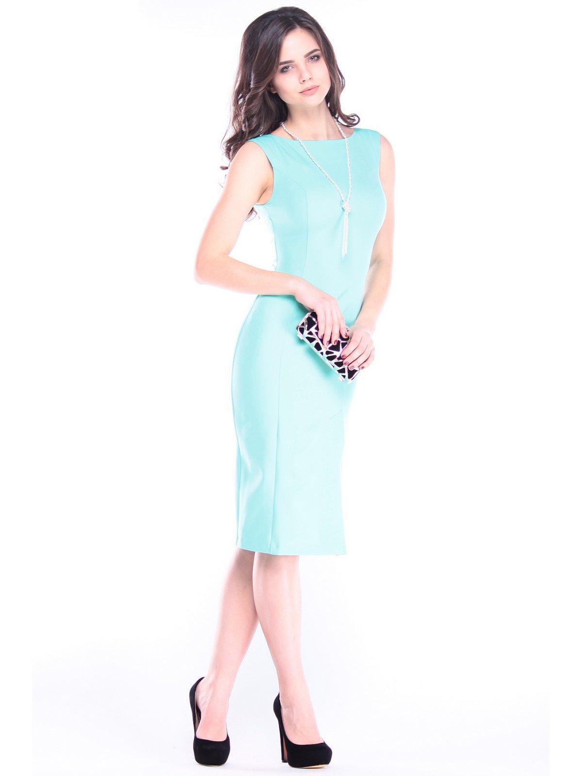 Сукня ментолового кольору | 2996573