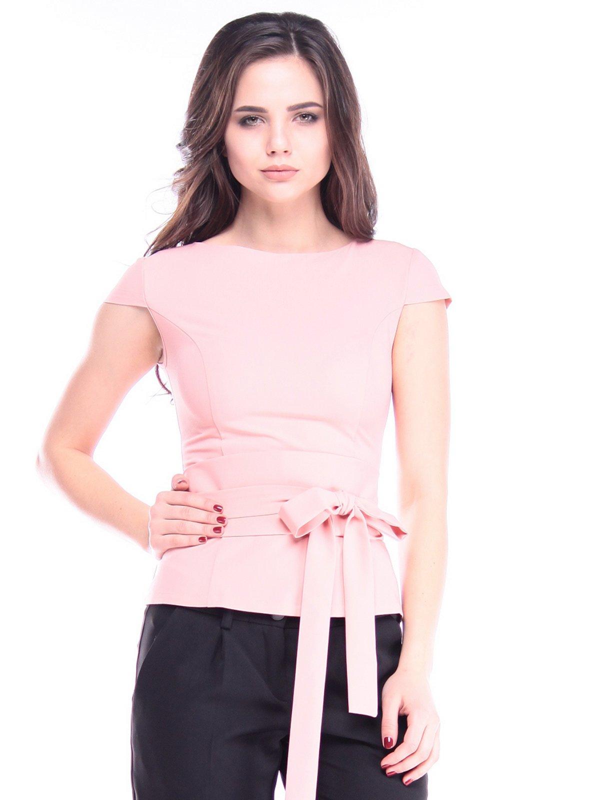 Блуза персикового цвета   2996589