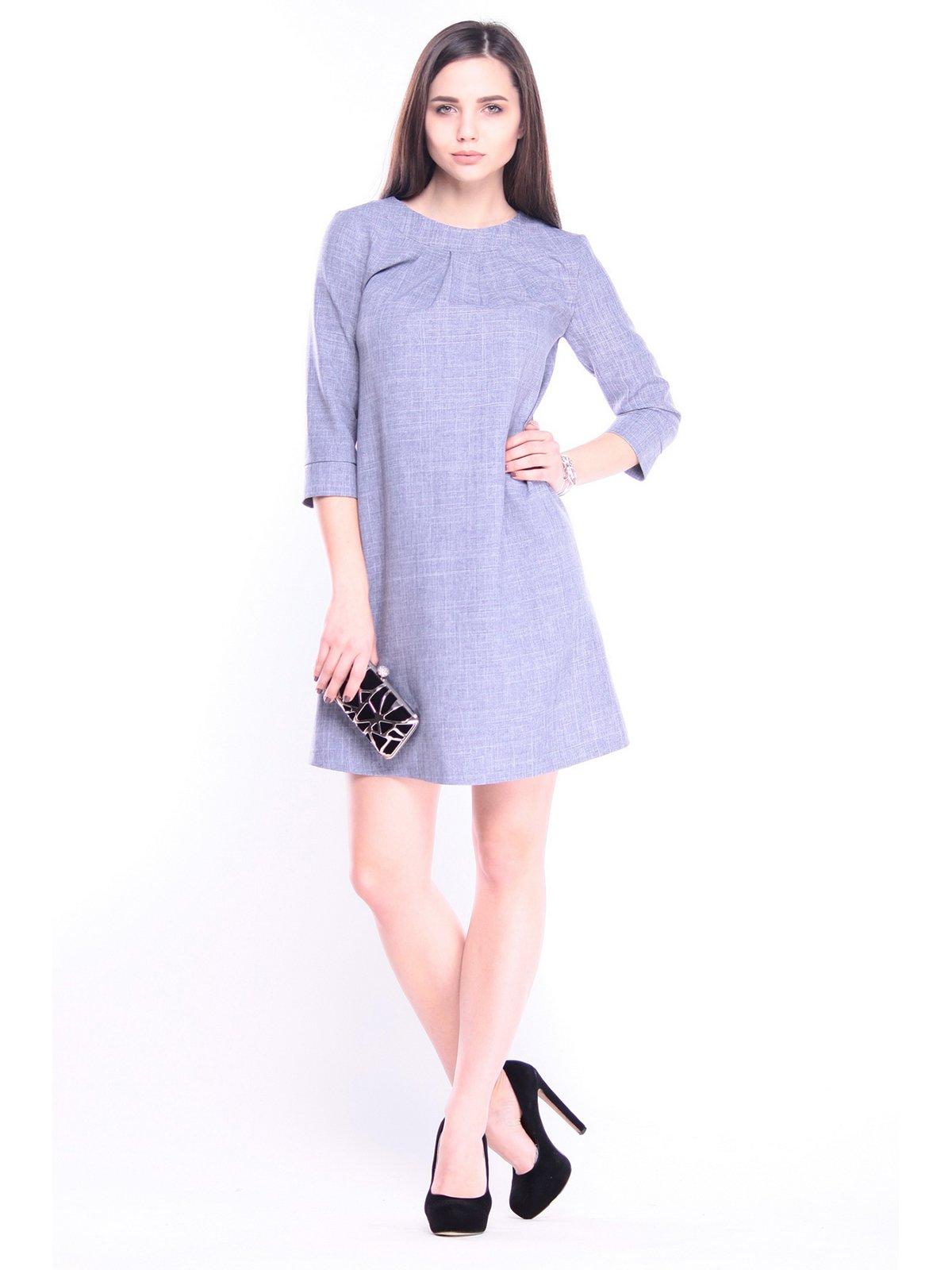 Сукня кольору фіолетового серпанку | 3041111
