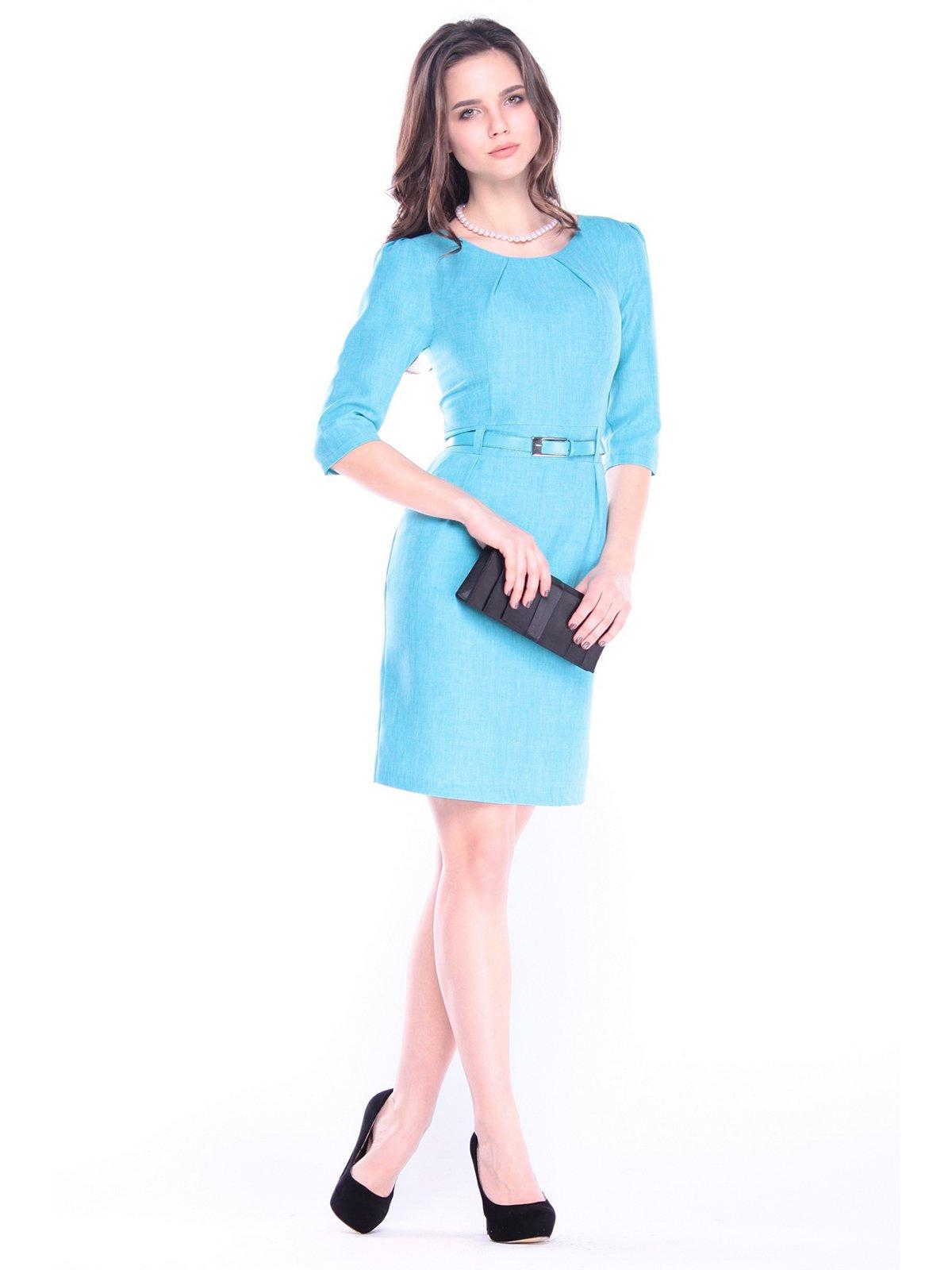 Сукня ментолового кольору | 3062527