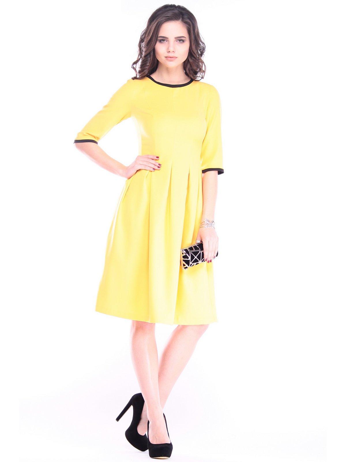 Платье жетлое | 3086053