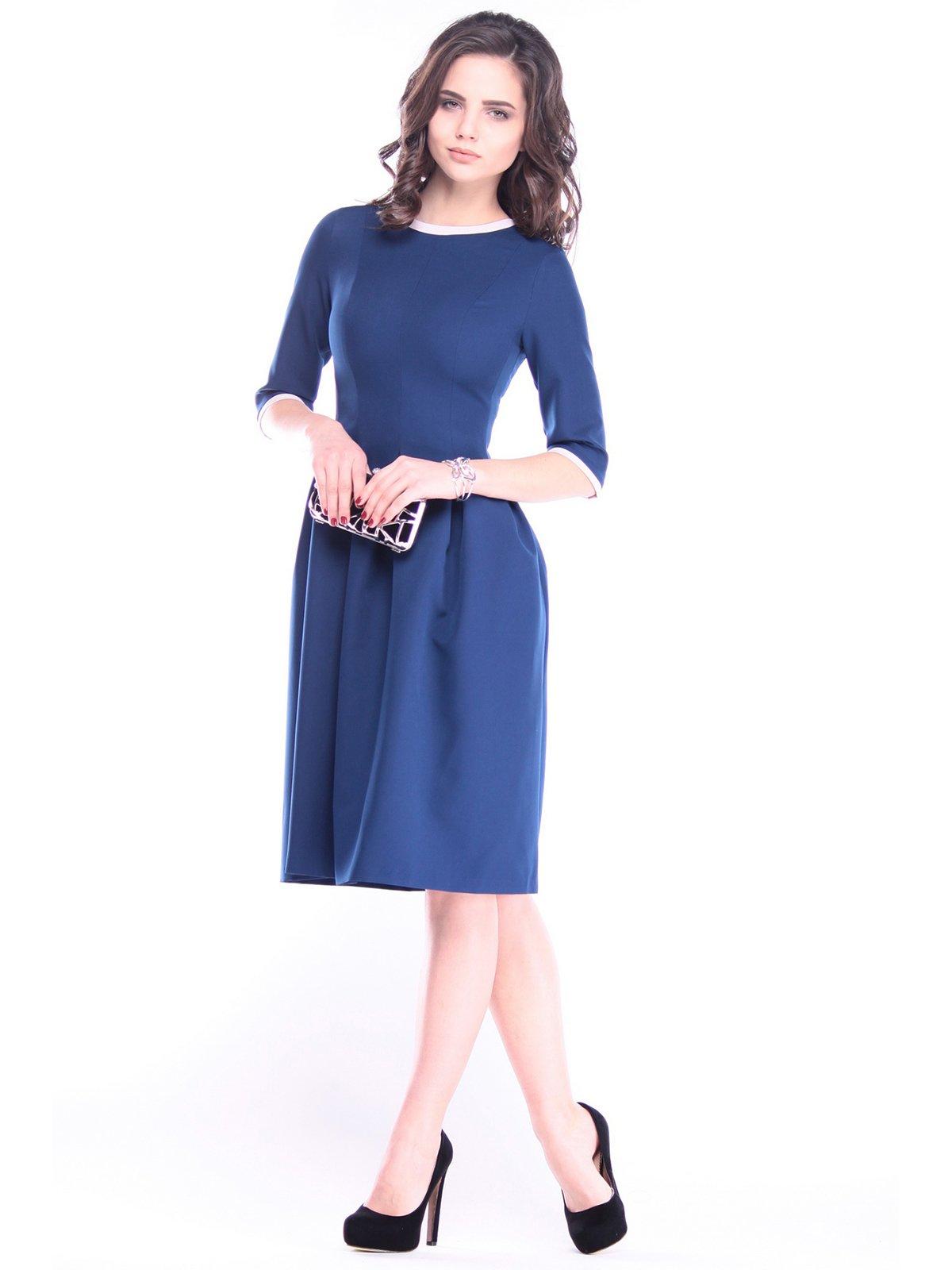 Платье синее | 3086054