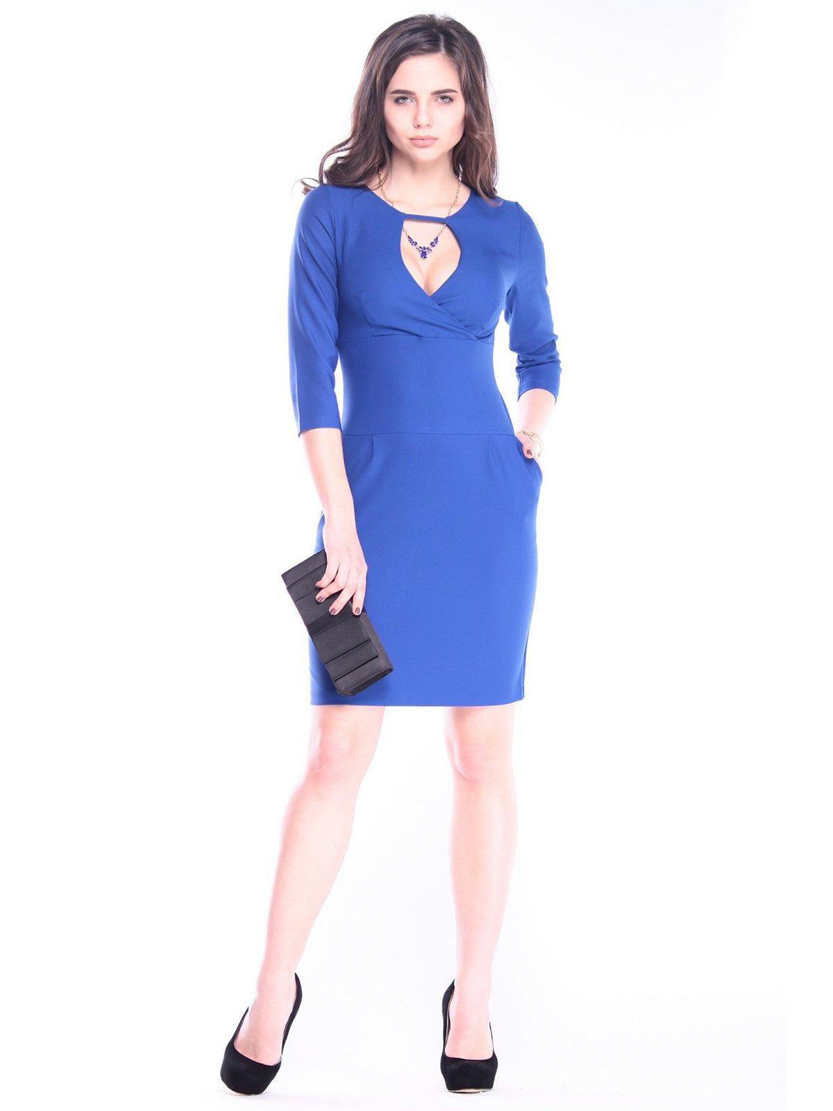 Сукня кольору електрик | 3086063