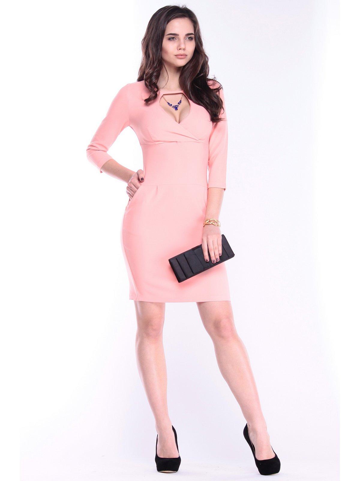 Платье персикового цвета   3086064