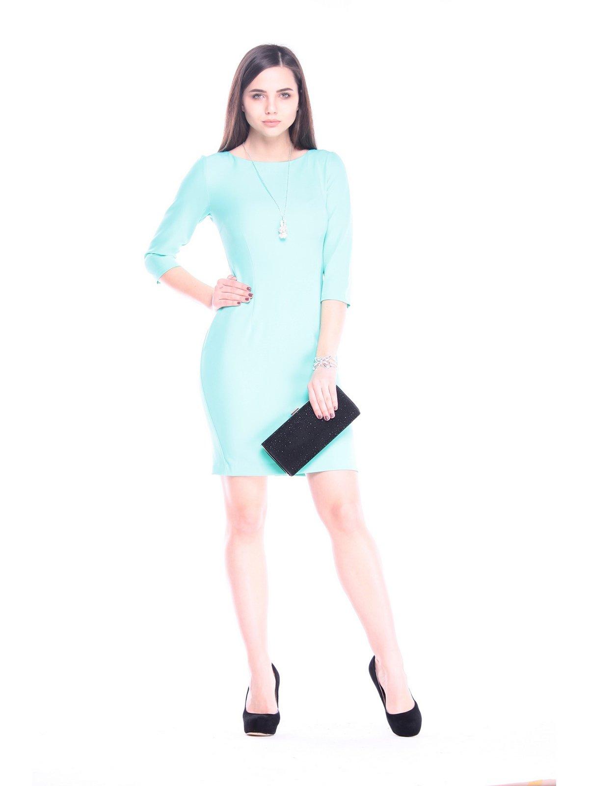 Сукня ментолового кольору | 3086070