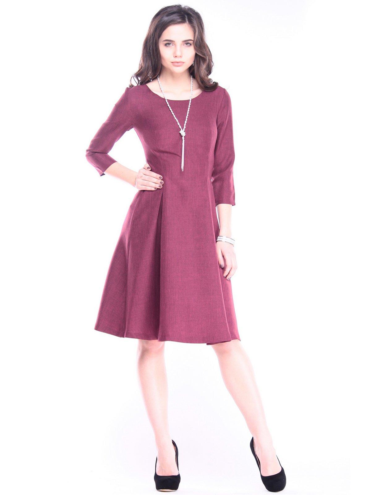 Сукня темно-сливова | 3086074