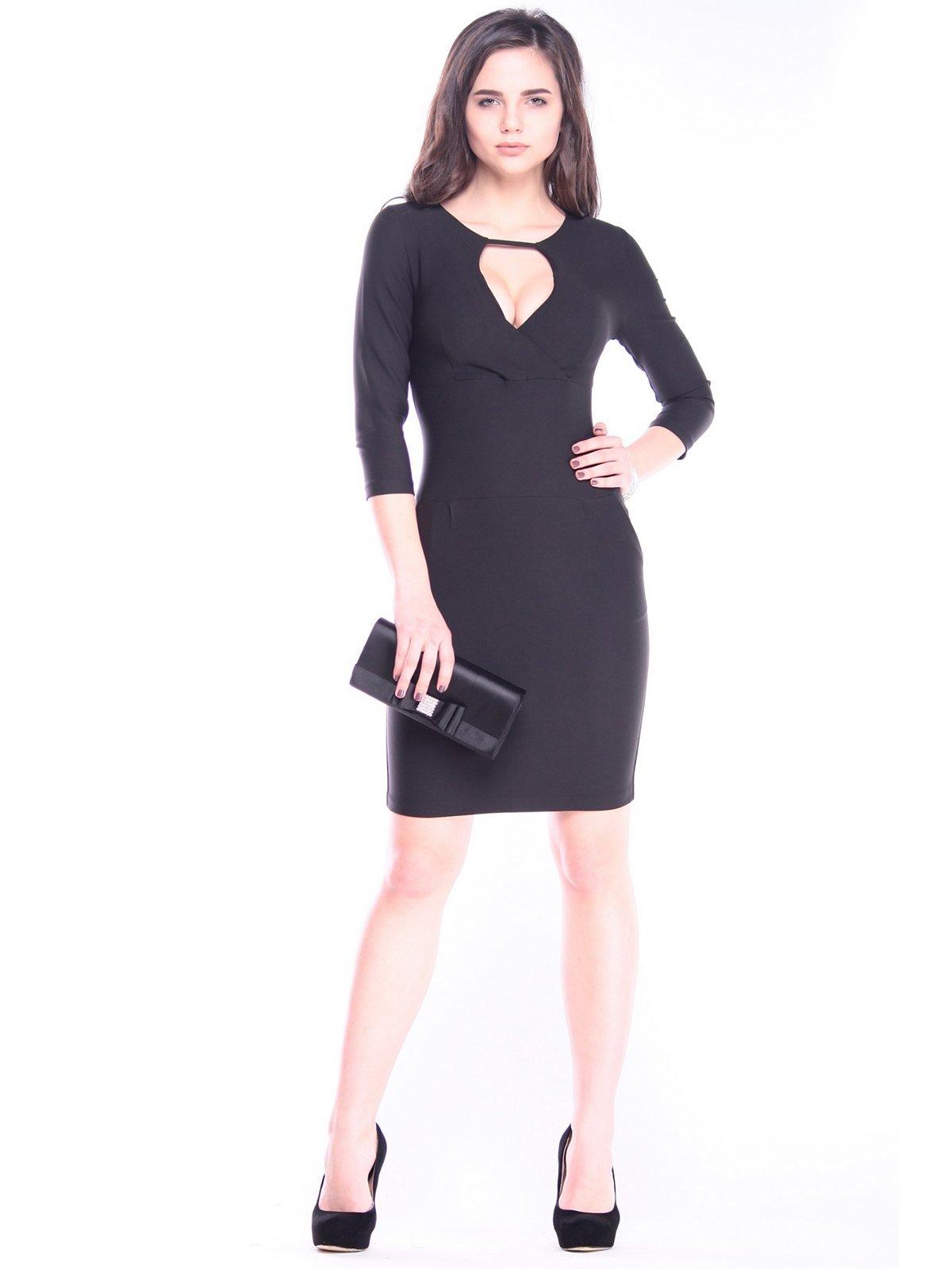 Платье черное | 3091024 | фото 3