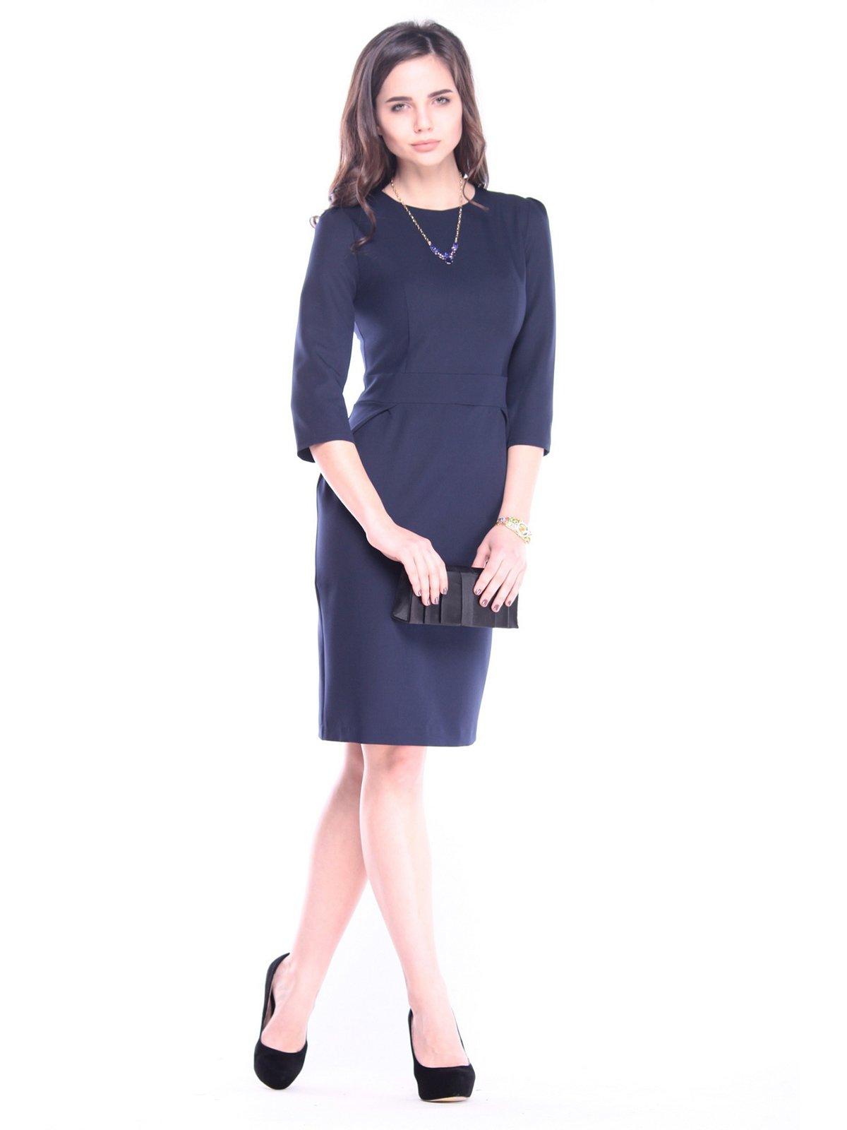 Платье темно-синего цвета | 3091308