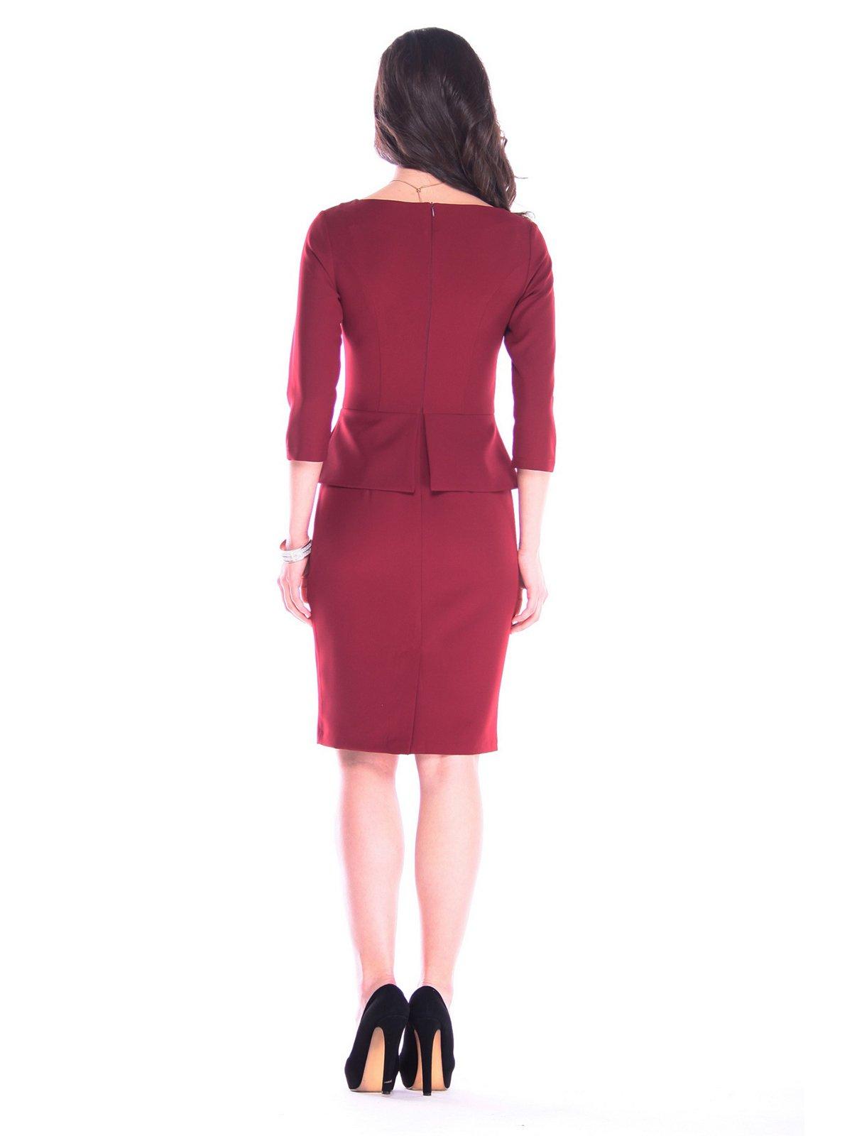 Платье сливового цвета | 3172680