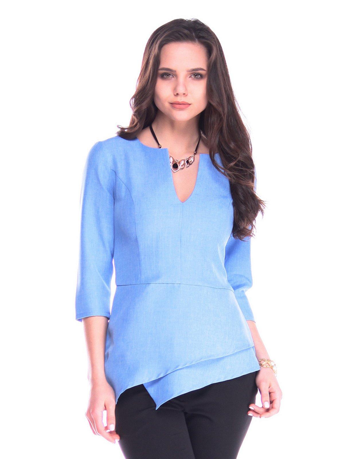 Блуза блакитна | 3172695