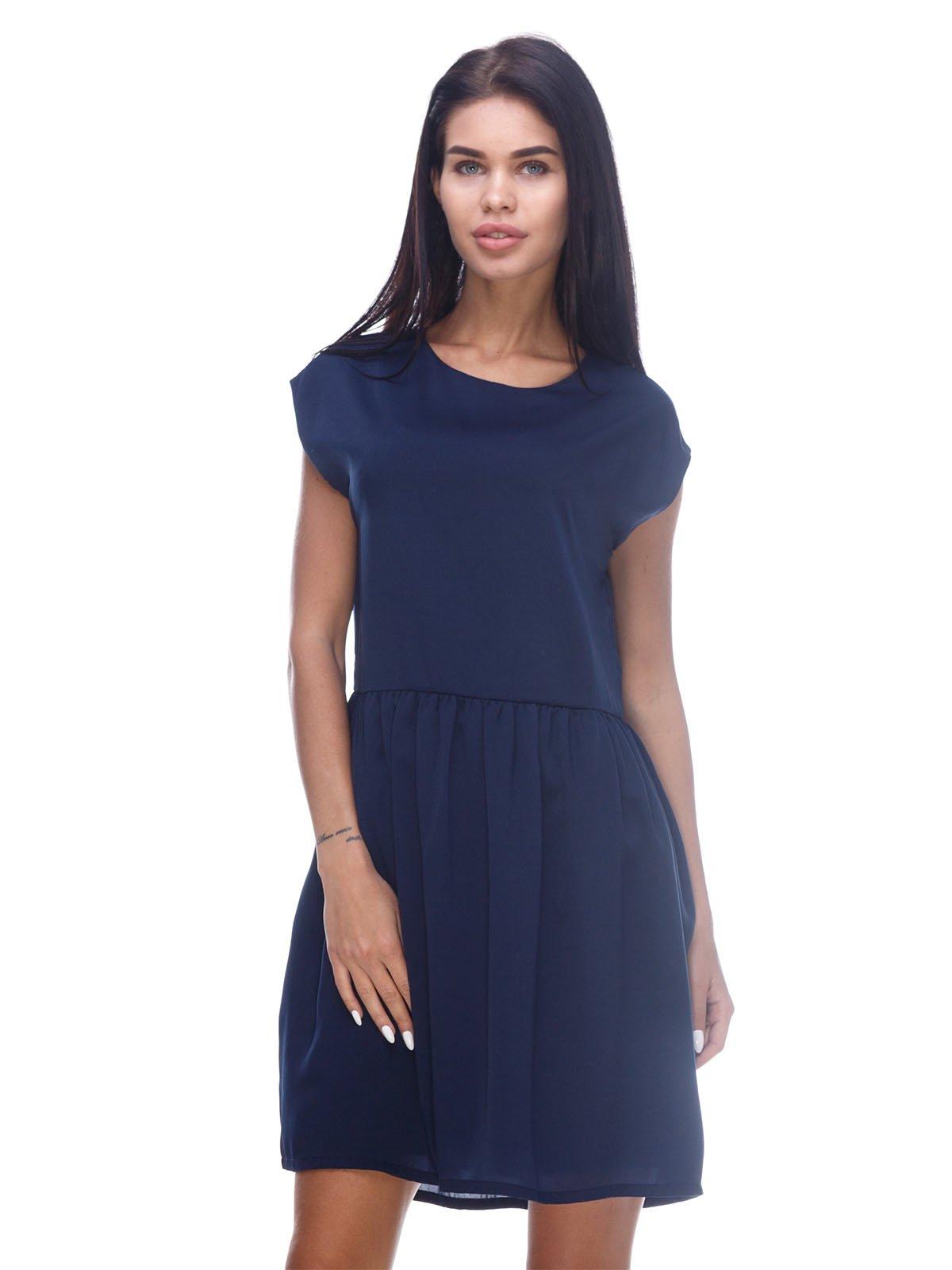 Платье синее | 3583769
