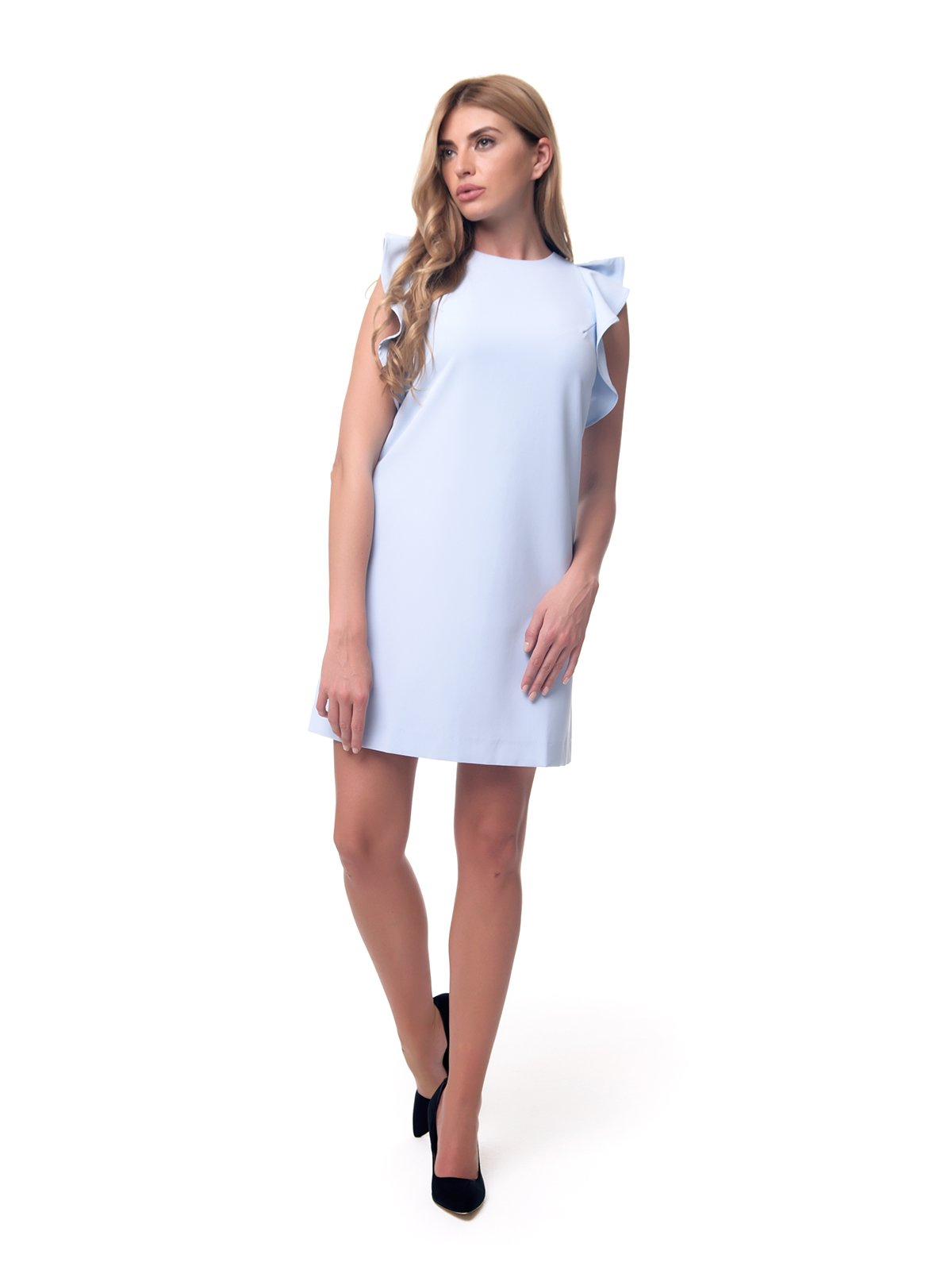 Платье голубое | 2957291