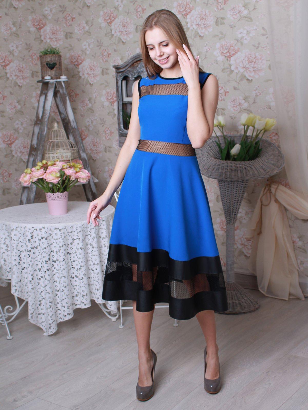 Платье синее | 3383920