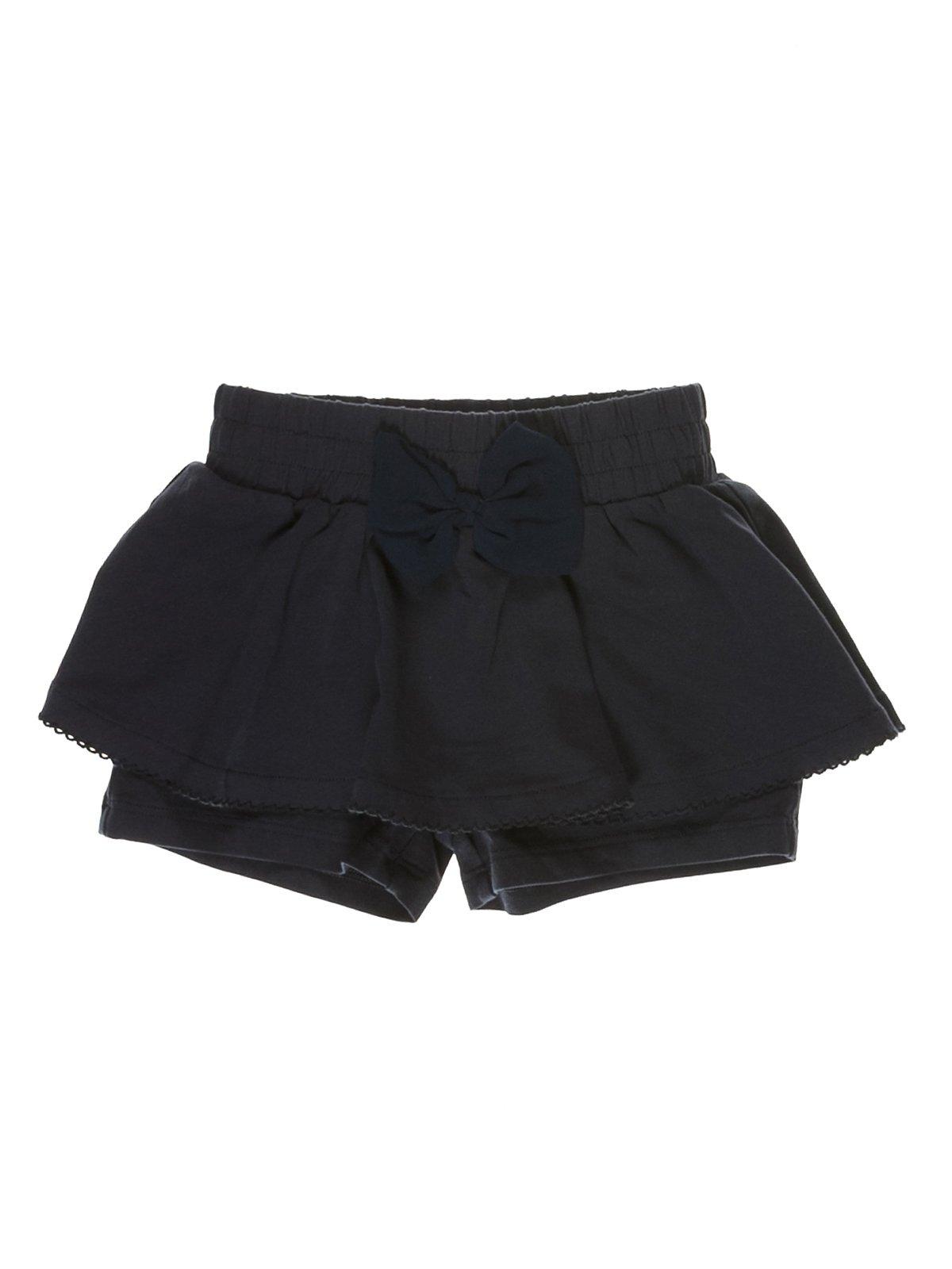 Спідниця-шорти чорна   3639175