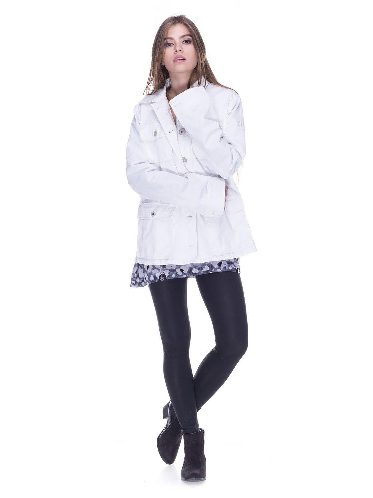 Куртка белая | 2189581 | фото 4