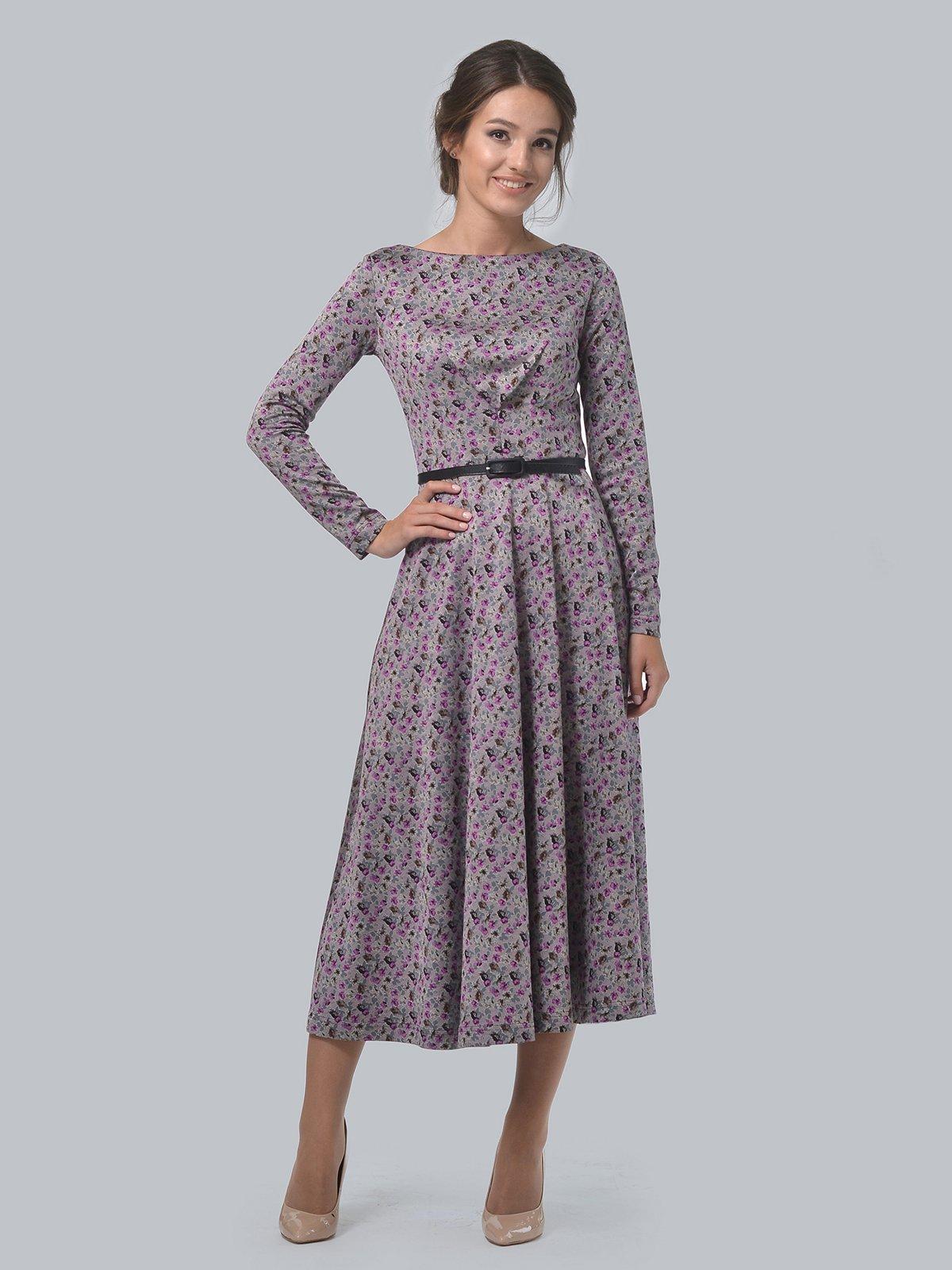 Платье в принт | 3621692