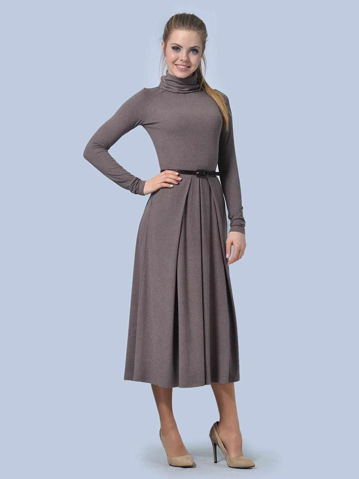 Платье цвета мокко | 3644165 | фото 2