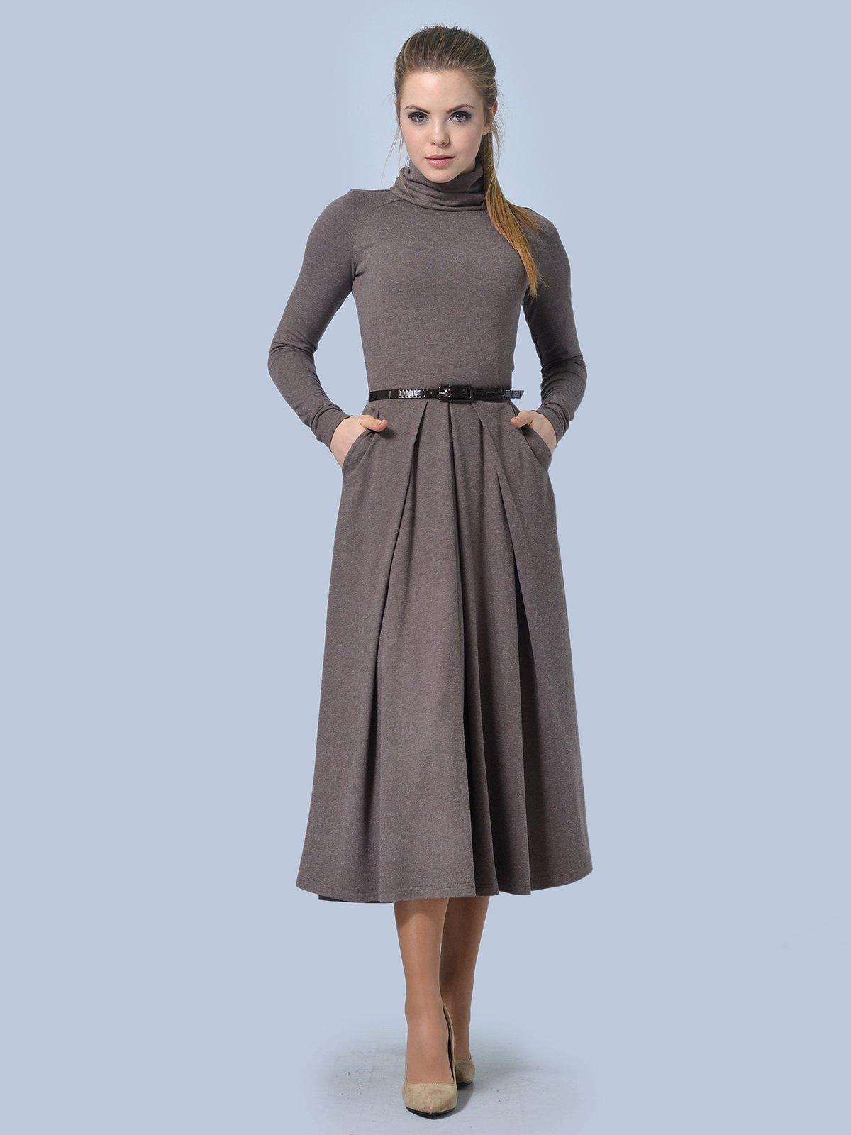 Платье цвета мокко | 3644165 | фото 3