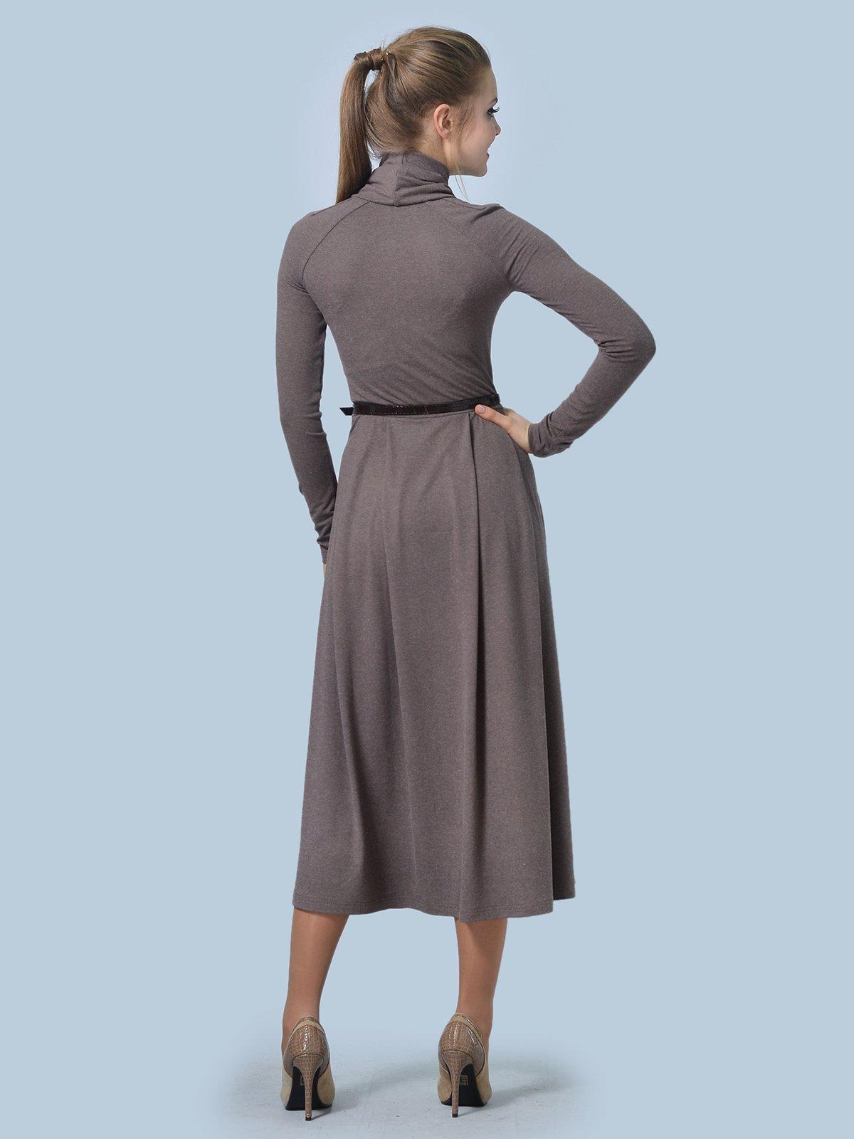 Платье цвета мокко | 3644165 | фото 4