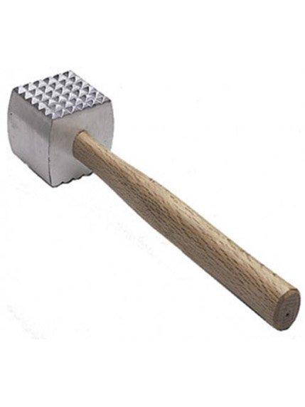 Молоток для м'яса з дерев'яною ручкою | 3556843