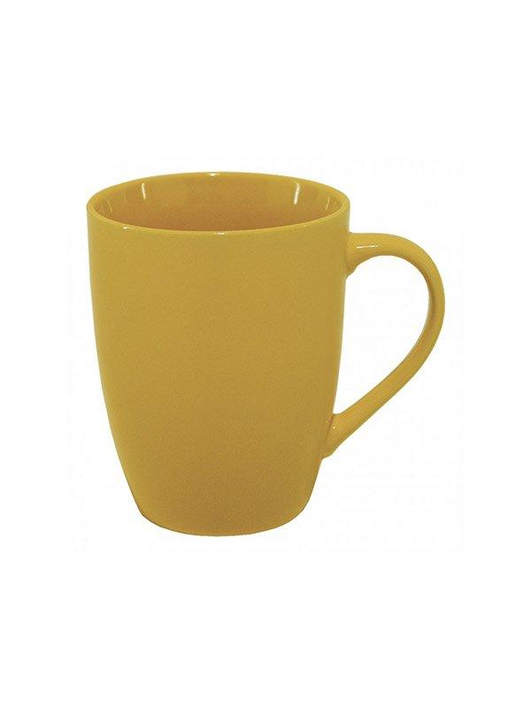 Чашка жовта керамічна (375 мл) | 3645266