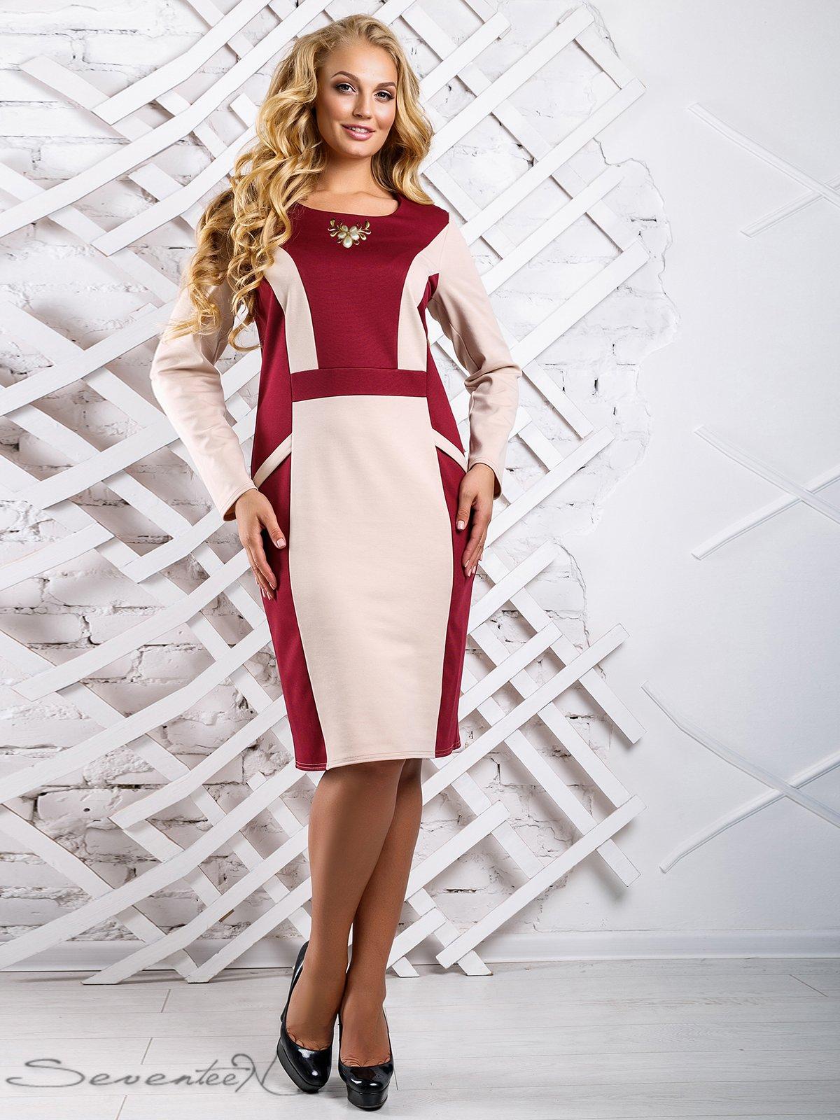 Сукня двоколірна | 3649684
