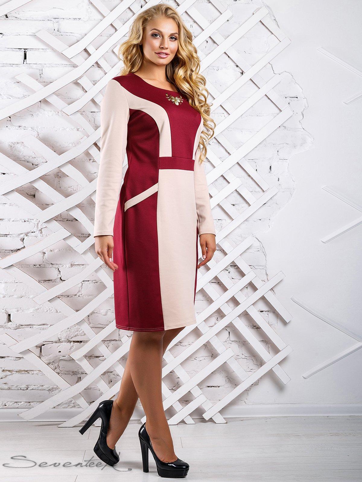Сукня двоколірна | 3649684 | фото 3