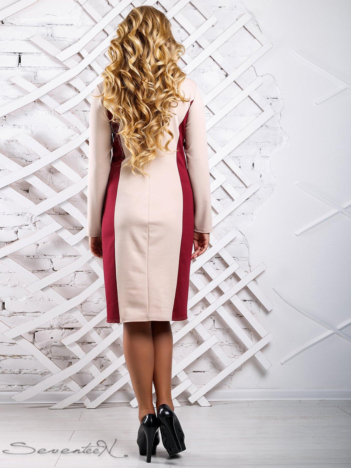 Сукня двоколірна | 3649684 | фото 4